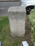 Image for A310 Milestone - Twickenham Road, Isleworth, London, UK
