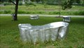 Image for Le tout reste un peu flou (All this is a little fuzzy) - Sculpture banc