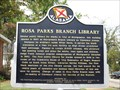 Image for Rosa Parks Branch Library - Montgomery, AL