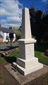 Image for Combined WWI / WWII memorial obelisk - St Helen - Sharnford, Leicestershire