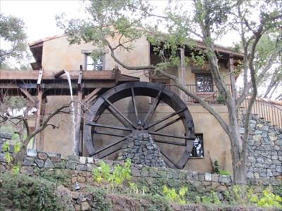 La Rusticana d'Orsa Water Wheel, Los Gatos, CA