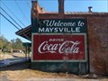Image for Welcome to Maysville, Drink Coca-Cola