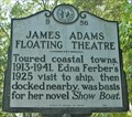 Image for James Adams Floating Theatre - B56