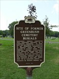 Image for Site of Former Greenbush Cemetery Burials Historical Marker