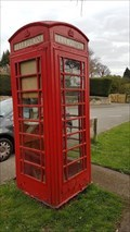 Image for Red Telephone Box - High Street - Harlaxton, Lincolnshire