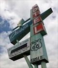Image for Oasis Motel - Roadside Attraction - Tulsa, Oklahoma, USA.