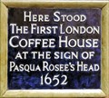 Image for First London Coffee House - St Michael's Alley, London, UK