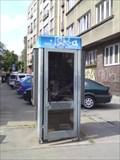Image for Telefonni budka, Praha, Vrsovicka/Uzocka ulice