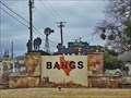 Image for Bangs City Sign - Bangs, TX