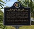 Image for History of the Town of Thomaston - Thomaston, AL
