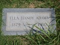 Image for 101 - Ella Handy Adams - Fairlawn Cemetery - Stillwater, OK