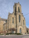 Note the missing steeple spire, which was replaced in 2007.