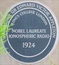 Image for Professor Sir Edward Victor Appleton - King's Campus, Strand, London, UK