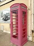 Image for Red Telephone Box - Neuville du Poitou - France