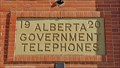 Image for 1920 - AGT Telephone Exchange Building - Didsbury, AB