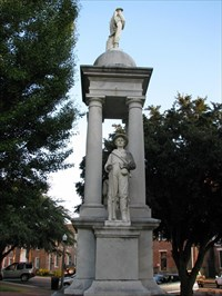 Lowndes County Confederate Monument - Columbus, Mississippi
