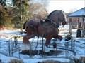Image for Clydesdale at the Ottawa Experimenal Farm - Ottawa, Ontario
