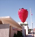 Image for Strawberry - Worlds Largest - 15 feet high.