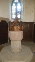 Image for Baptism Font - St Edmund - Fenny Bentley, Derbyshire