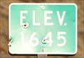 Image for US Highway 2 ~ Elevation 1645 Feet