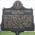 Image for First Lt. Carl H. Dodd & Medal of Honor Winner, Lily, Laurel County, Kentucky