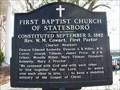 Image for First Baptist Church of Statesboro-FBCS-Bulloch Co