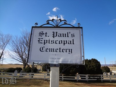 The church and cemetery were established circa 1840, but the church was destroyed by a tornado 89 years later.