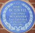 Image for James Boswell - Great Portland Street, London, UK
