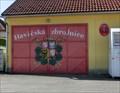 Image for Door of Firehouse - Dvory nad Lužnicí, Czech Republic