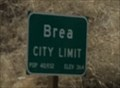 Image for Brea, California ~ Elevation 364 ft.