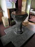 Image for Baptismal Font– Christ Church, The Dhoon, Glen Mona, Isle of Man