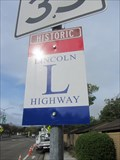 Image for Dublin Blvd Lincoln Highway Sign - Dublin, CA