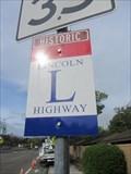 Image for Dublin Blvd Lincoln Highway Sign - Dublin, CA