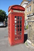 Image for Red Telephone Box - Greenwich High Road, London, UK