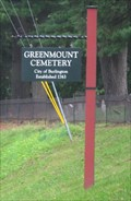 Image for Greenmount Cemetery - Burlington, Vermont