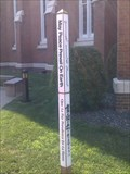 Image for First Prebyterian Church Peace Pole - Evansville, IN