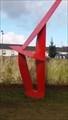 Image for Sculpture rouge - Rennes, Bretagne