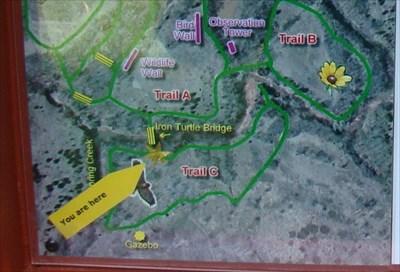 Martin Nature Park Okc Map
