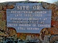 Image for Site of Presbyterian Church - Fairview, BC