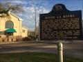 Image for Bayou La Batre Historical Marker - Bayou La Batre, Alabama