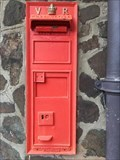 Image for Victorian Wall Post Box - Railway Station - Great Malvern - Worcestershire - UK