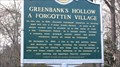 Image for Greenbank's Hollow: A Forgotten Village - Danville