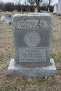 Image for Tennie Cowan - Huckabay Cemetery - Huckabay, TX