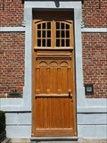 Image for Wooden Doorway of the Augustijnenklooster in Hasselt, Limburg / Belgium