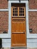 Image for Wooden Doorway of the Augustijnenklooster in Hasselt, Limburg / Belgium