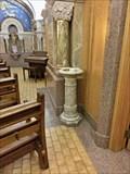 Image for Stone Font, Basilica of Sainte-Anne-de-Beaupré - Beaupré, QC
