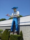 Image for Cowboy Muffler Man - Larger Than Life - Norwich, CT
