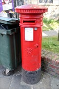 Image for Victorian Post Box - Castlegate, York, UK