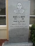 Image for Mack G. Britt - First Bradenton Florida Highway Patrol Officer