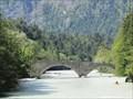 Image for Steinbrücke über die Saalach, Schneizlreuth, Lk Berchtesgadener Land, Oberbayern, Deutschland